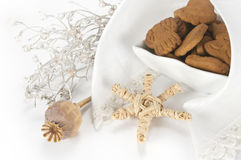 Ginger cookies Royalty Free Stock Images