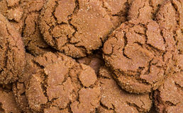 Ginger cookies background Stock Images