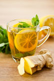 Ginger tea Stock Images
