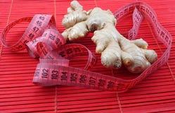 Ginger Diet Concept Fotografía de archivo libre de regalías