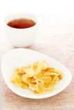 Ginger dried chips Royalty Free Stock Photography