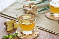 Ginger drink Royalty Free Stock Images