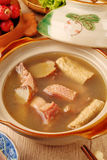 Ginger duck with rice wine Royalty Free Stock Image