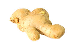 Ginger. Fresh Ginger on white background Royalty Free Stock Image