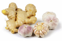 Ginger and Garlic Stock Photography