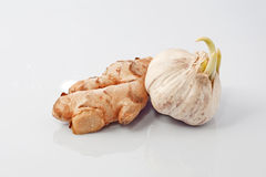 Ginger and Garlic Royalty Free Stock Image