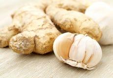 Ginger and garlic Stock Photos