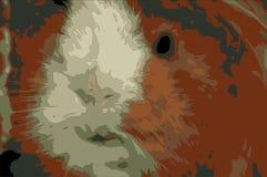 Ginger Guineapig vektor abbildung