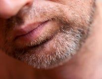 Ginger hair graying, middle-aged men Stock Photo