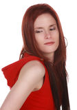 Ginger hair woman stock photography