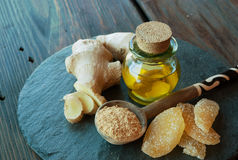 Ginger healthy food Royalty Free Stock Images