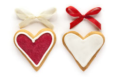 Ginger Hearts for Valentine's and Wedding Day. Stock Image