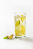 Ginger ice tea Stock Images