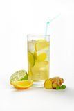 Ginger ice tea Royalty Free Stock Image