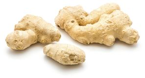 ginger isolated root Στοκ Εικόνα