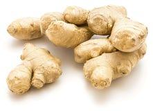 ginger isolated root Στοκ φωτογραφία με δικαίωμα ελεύθερης χρήσης