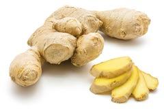 ginger isolated root Στοκ Φωτογραφία
