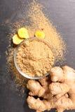 ginger isolated root Στοκ Εικόνα