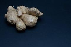 ginger isolated root Στοκ φωτογραφίες με δικαίωμα ελεύθερης χρήσης