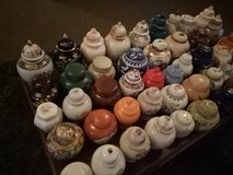 Ginger Jars royalty-vrije stock afbeelding