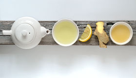 Ginger Lemon Tea Stock Images