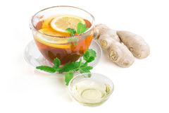 Ginger Lemon Tea Royalty Free Stock Image