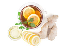 Ginger Lemon Tea Royalty Free Stock Photography