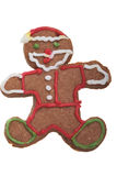Ginger Man Christmas cookie. Royalty Free Stock Photo