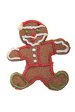 Ginger Man Christmas cookie. Royalty Free Stock Image