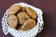 Ginger molasses cookies Royalty Free Stock Image
