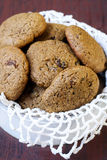 Ginger molasses cookies Royalty Free Stock Images