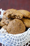 Ginger molasses cookies Stock Image