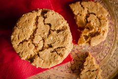 Ginger and Molasses Cookies Royalty Free Stock Photography
