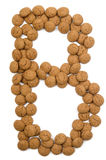 Ginger Nut Alphabet B Stock Image
