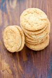Ginger nut biscuits Royalty Free Stock Images