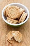 Ginger nut biscuits Stock Image