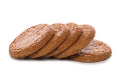 Ginger nut biscuits Stock Photo