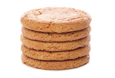 Ginger nut biscuits Royalty Free Stock Photography