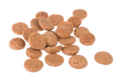 Ginger nuts,  Dutch candy for Sinterklaas event in december Stock Images