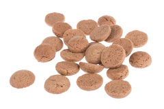 Ginger nuts, Dutch candy for Sinterklaas event in december Stock Photos