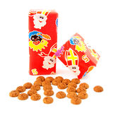 Ginger nuts and presents Stock Photography