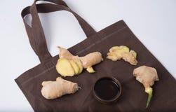 Ginger Oil Images stock