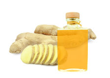 Ginger oil Stock Photos