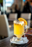 Ginger orange tea Royalty Free Stock Images