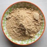 Ginger Powder Imagen de archivo libre de regalías