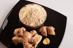 Ginger Powder fresco. Immagini Stock