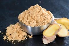 Ginger Powder Stock Photos