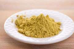 Ginger powder Stock Photo