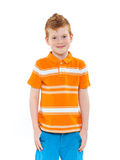Ginger red hair boy Royalty Free Stock Photo