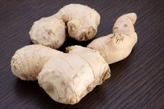 Ginger rhizomes Royalty Free Stock Photos